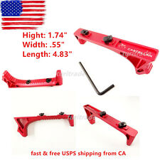 RED LINK Curved Angled Fore Grip Fits M-LOK US