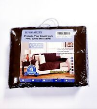 """Reversible Sofa Furniture Protector Slipcover Water Resistant For 66"""" Couch"""