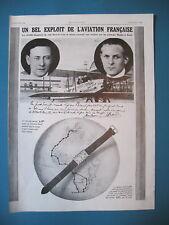PUBLICITE DE PRESSE LIP MONTRE AVIATION RAID PARIS LE CAP MAULER BAUD AD 1928