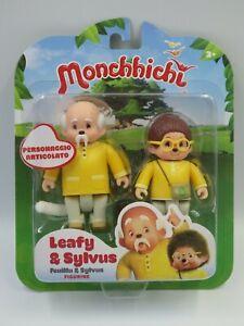 Figurine Monchhichi Set 2 figurines articulées Feuillu & Sylvus KIKI 2018