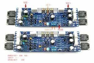 1pair LJM L12-2 Dual Power Amplifier Board Low Distortion Class AB AMP