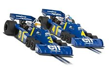 Scalextric Tyrrell P34 Swedish GP 1976 1/32 Scale Slot Cars - Twin Pack (C4084A)