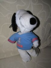 RARE Vintage Plush Snoopy Figure In US Football Outfit - EXC COND !!