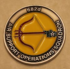 682d Air Support Operations Sq ASOS TACP 18th Airborne Air Force Challenge Coin