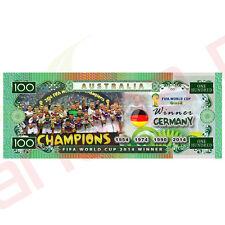 Germany FIFA 2014 World Cup Winner - Australian 100 Dollar Novelty Money