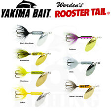"Yakima Bait Worden Original Rooster 2 1/4"" 1/8 oz Tail Spinner with Treble Hook"