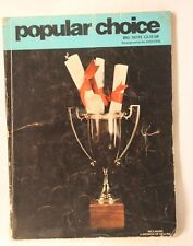 Paperback Popular Choice Big Note Guitar Song Book 1972 Arranged by Dan Fox