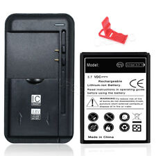 High Capacity Substitutable Battery+Universal Charger F Alcatel SmartFlip 4052C