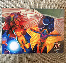 X-Men Marvel Ultra Fleer 1994 Rogue and Arch Angel Limited Edition 4 of 9