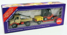 Siku 1/55 Scale Model 2522 - Mercedes Benz Unimog With Forklift Truck