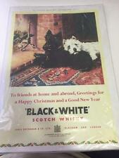 Black & White Scotch Whisky Reproduction poster