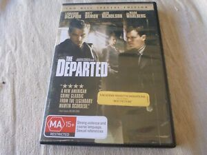 The Departed - 2 Disc Special Edition (DVD, 2007, 2-Disc Set) Region 4