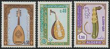 ALGERIE N°460/462** Instruments de musique, 1968 ALGERIA musical instruments MNH