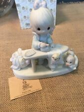 """New ListingPrecious Moments Figurines """"Press On� No Chips Or Damage"""