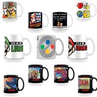 Nintendo Mug Mario Luigi Zelda GameBoy NES SNES Gamer Star Fox Official