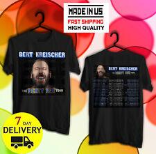 Bert Kreischer Shirt 'Berty Boy Tour' 2020 Full Dates Black T-Shirt W22