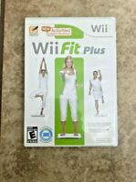 Wii Fit Plus (Nintendo Wii, 2009) Complete with Manual Tested Fast Shipping