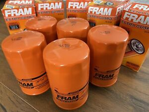 Fram PH10600 Engine Oil Filter-Extra Guard Lot Of 5 Dented Filters Damaged Boxes