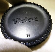 Vivitar Body Cap for NIKON FE FM FM10 D3200 D3100 Cameras 2X teleconverter front