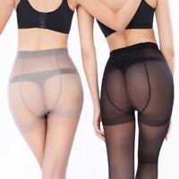 Plus Size Women Super Elastic Stockings Nylon Magical Tights Shaping Pantyhose