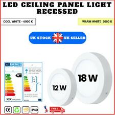 LED Round Ceiling Down Light Cool & Warm  White