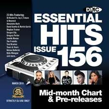 Essential Hits 156 Chart Music DJ CD - Latest Releases of Radio Edit Tracks