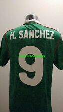 NEW Umbro Mens Seleccion Mexicana Futbol Mexico Soccer Jersey HUGO SANCHEZ #9 S