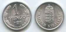 G2281 - Ungarn 1 Pengö 1941 BP KM#521 UNC Magyar Királyság Hungary