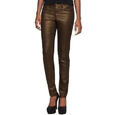 JUNIORS womens sz 5 Decree SUPER SKINNY coated legging jeans NWT