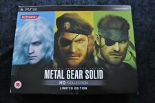 Metal Gear Solid HD Collection Limited Edition Playstation 3 PS3