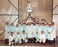 Vintage General Electric Group Photo 8 x 10 NASA May 22 1974 Space Rockets