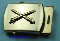 FIELD ARTILLERY ARMY BRANCH  black Web Belt & Brass 869
