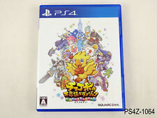 Chocobo's Dungeon Everybuddy (eng Playstation 4 Japanese Import PS4 JP US Seller