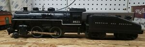 O Scale Lionel Norfolk and Western 8625 DC Engine And Tender