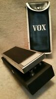 VINTAGE 1970 Rare VOX Square Box Wah Pedal EF-EL ITALY 70's With Bag