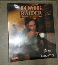 Tomb Raider The Last Revelation PC  Hardcover Big Box  Brand New & Sealed