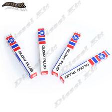 4x Glow Plugs 8941337599,5814100236,9825139289,1825130431 for Isuzu 4JB1 4JA1