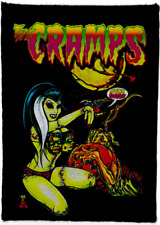 THE CRAMPS PATCH 100% COTTON JOHNNY ACE FRANKENSTEIN PUMPKIN HALLOWEEN PSYCHOB