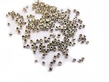 50 Metallperlen Spacer 15x13x2mm Rahmen gold farben #S265