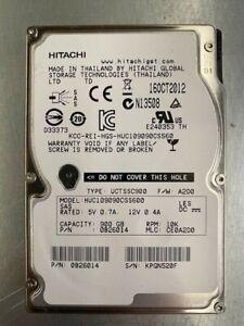 """HITACHI / HGST 900GB 10K 2.5"""" SAS SERVER HDD MODEL: HUC106060CSS600 P/N: 0B26014"""