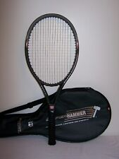 "Wilson 2.3 Hyper Hammer Carbon OS Tennis Racquet 110 Sq. In. No. 3, 4 3/8"" Grip"