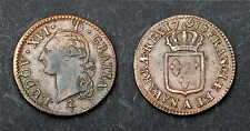 Sol 1791 A (Paris). Louis XVI. Héron. Cuivre. Cote en TTB: 120€