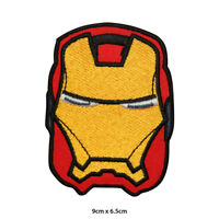 Ironman Super Hero Movie Embroidered Patch Iron on Sew On Badge For Clothe etc