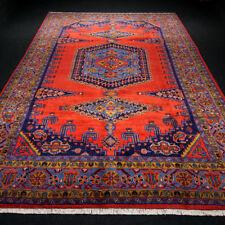 Orient Teppich Rot 344 x 224 cm Perserteppich Handgeknüpft Carpet Rug Handmade