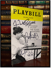 The Glass Menagerie ✎SIGNED✎ by SALLY FIELD + CAST Collectible Playbook Williams