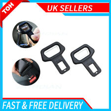 2Pc Car Safety Seat Belt Buckle Alarm Stop Warning Clip Bottle Opener Universal