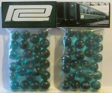 2 Bags Of Penn Central Railroad Promo Marbles