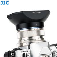 JJC Metal Lens Hood + Cap fr Olympus M.Zuiko Digital ED 12mm f/2.0 Lens as LH-48