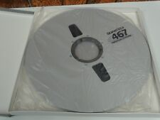 1 x Brand New & Sealed Quantegy 467 DASH 14in Digital Audio Reel To Reel Tape