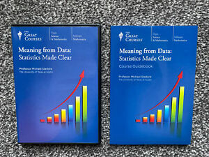 The Great Courses - Meaning from Data Statistics Made Clear - Mathematics Course